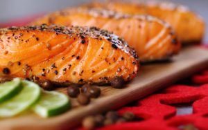 Bourbon Marinated Smoked Salmon Recipe