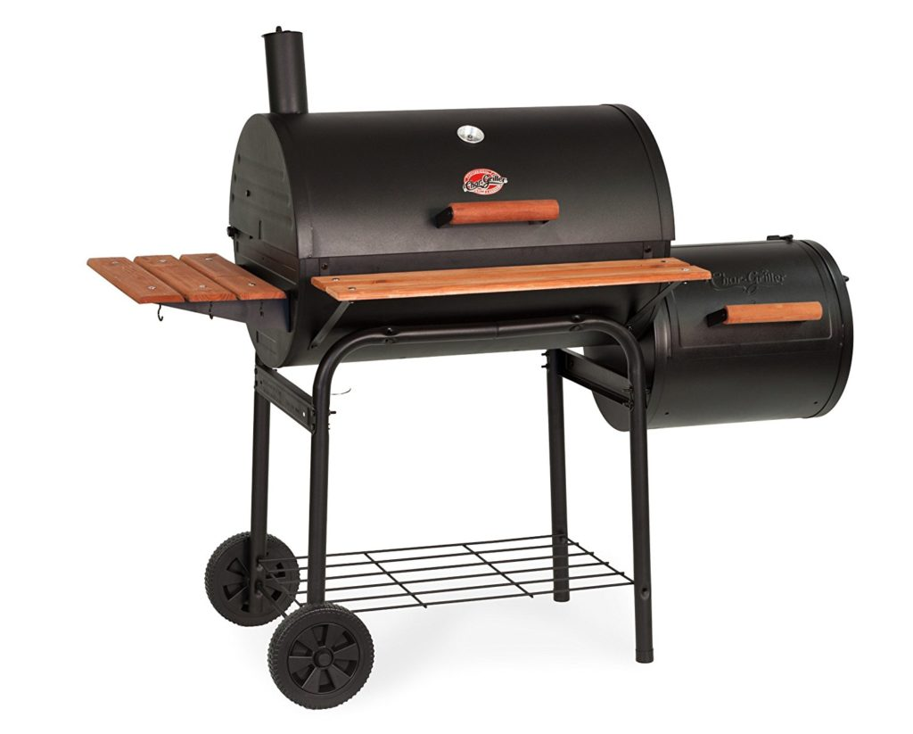 Char Griller Charcoal Grill With Side Fire Box