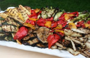 Smoked Vegetable Platter Recipe Using Smoker