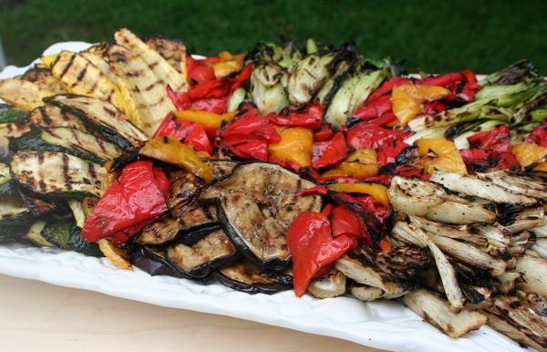 Smoked Vegetable Platter Recipe Using Smoker